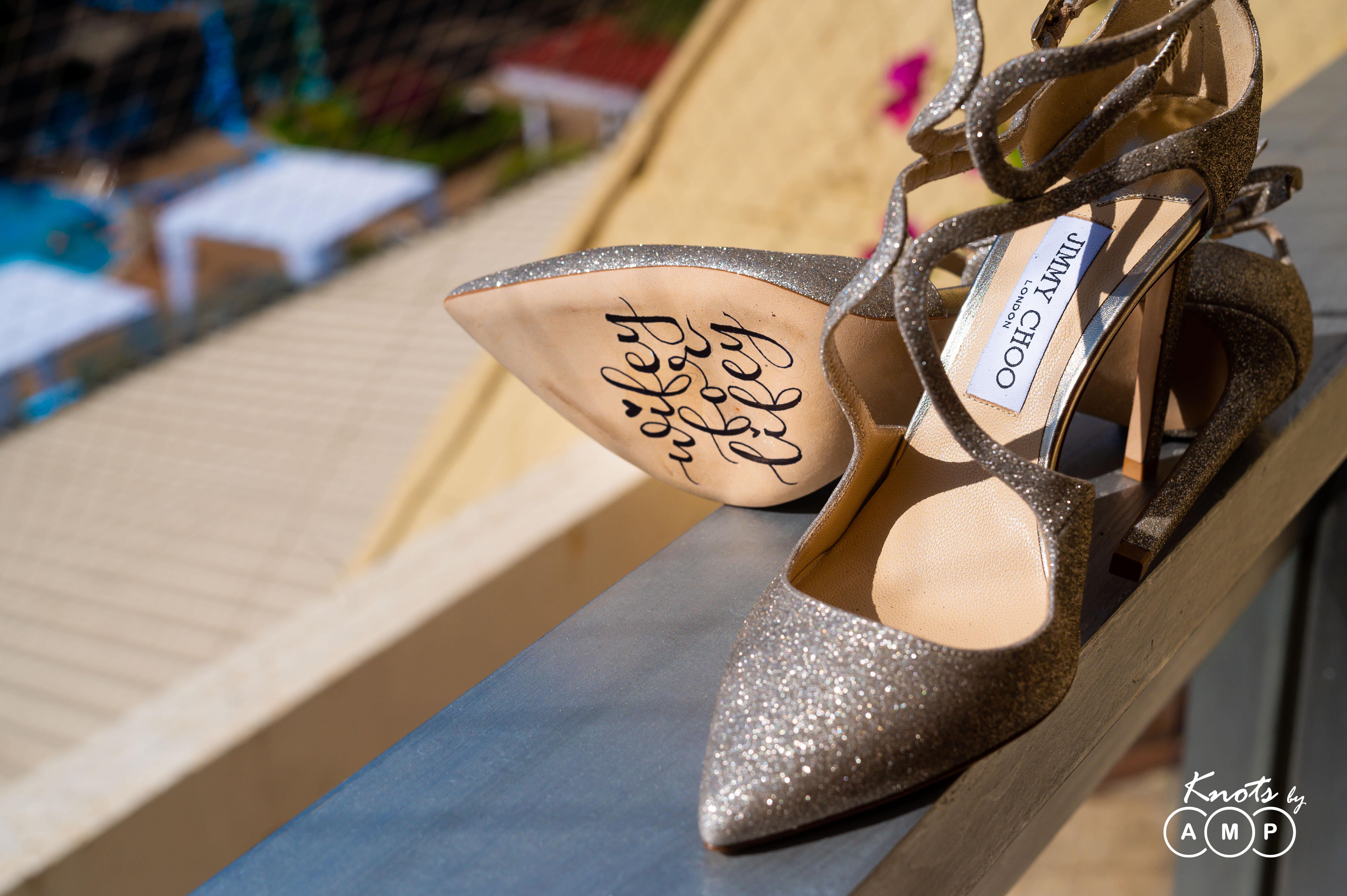 Personalised Jimmy Choo heels