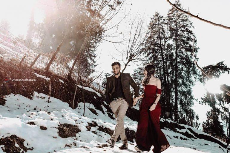 pre wedding shoot in shimla