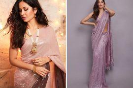 Manish Malhotra Sequin Sarees Cost