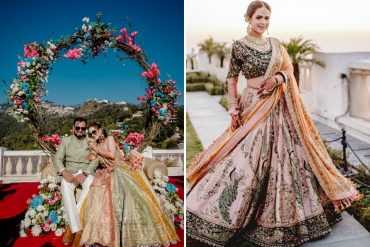 Payal Keyal Bridal lehenga