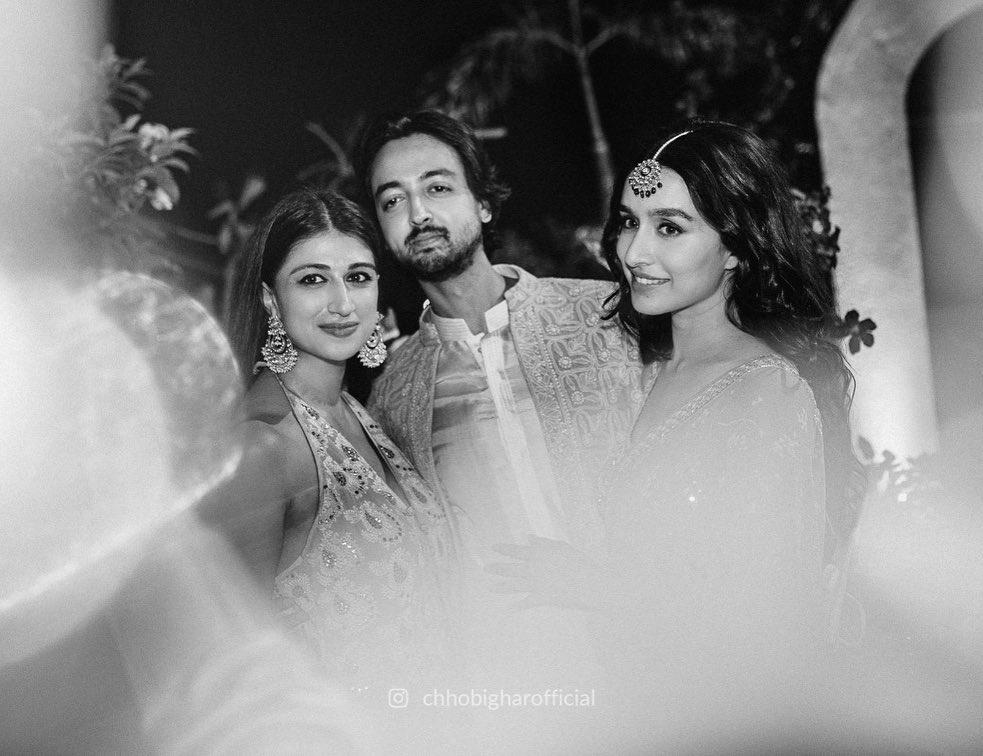 Shraddha Kapoor cousin Priyaank Sharma engagement