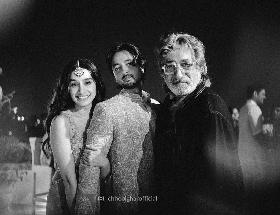 Shraddha Kapoor with Shakti Kapoor