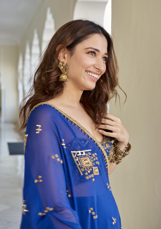 Tamannaah attedning Hanna Khan wedding