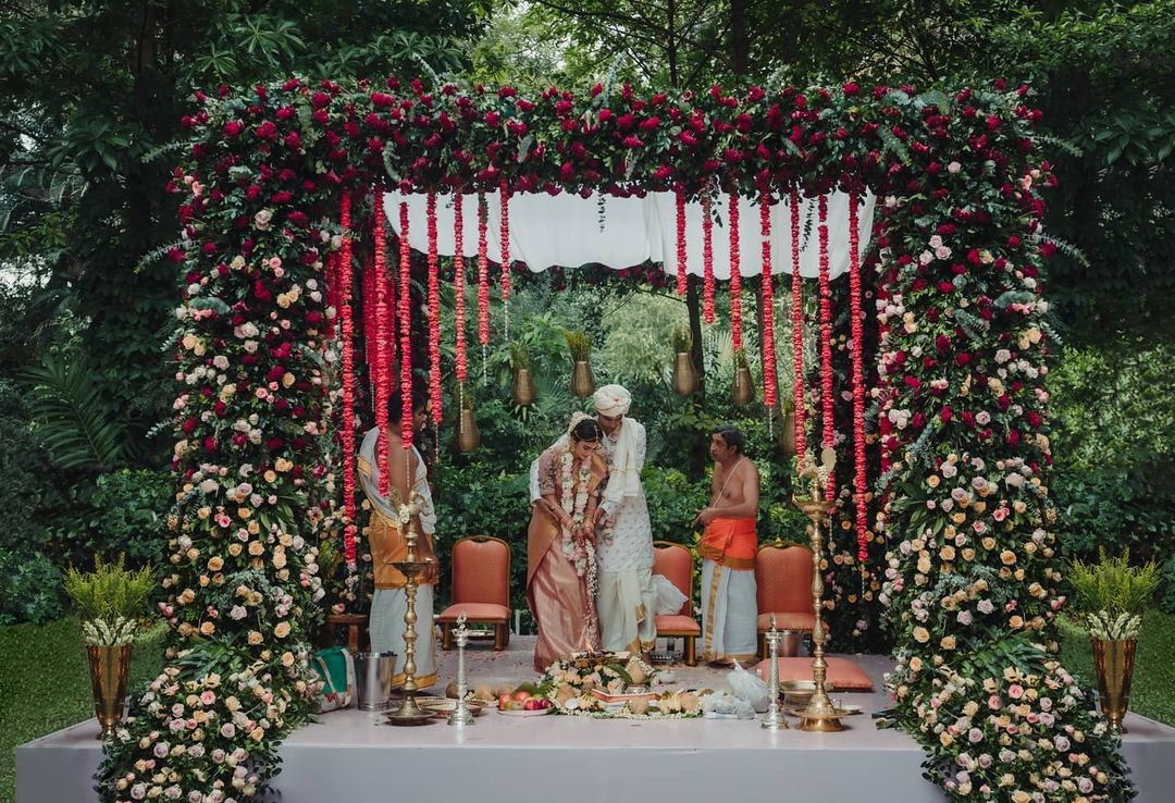 beautiful mandap decor