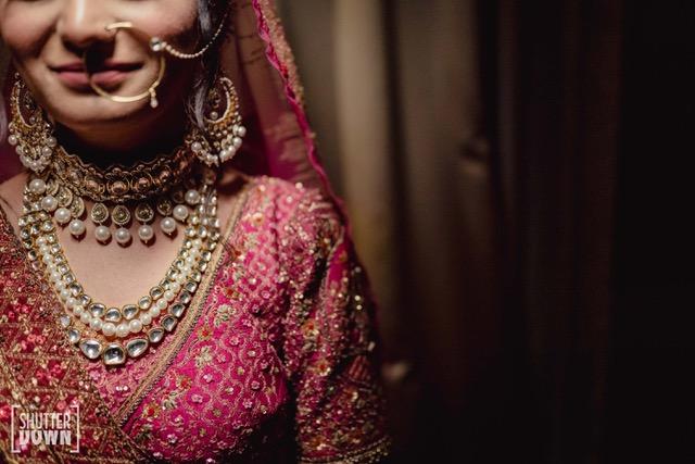 bridal kundan & pearl jewelry