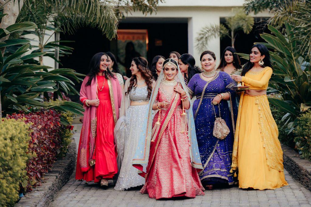 bridesmaids lehenga ideas