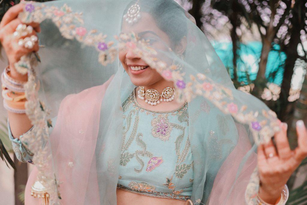 Bride Designed Her Lehenga
