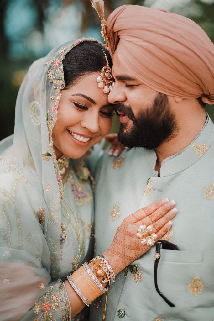 sikh couple portraits