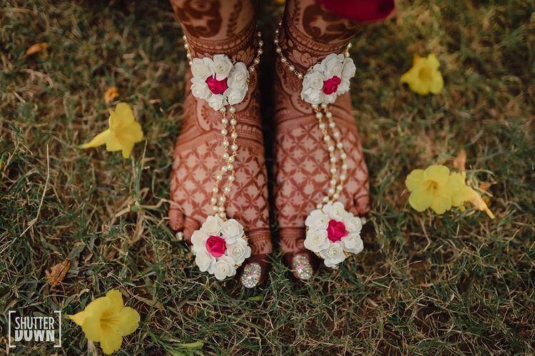 Floral Feet Jewellery