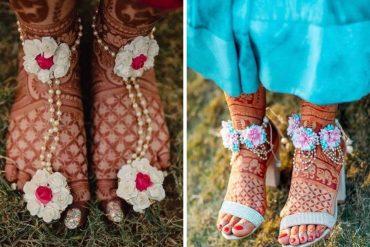 Floral Feet Jewellery ideas
