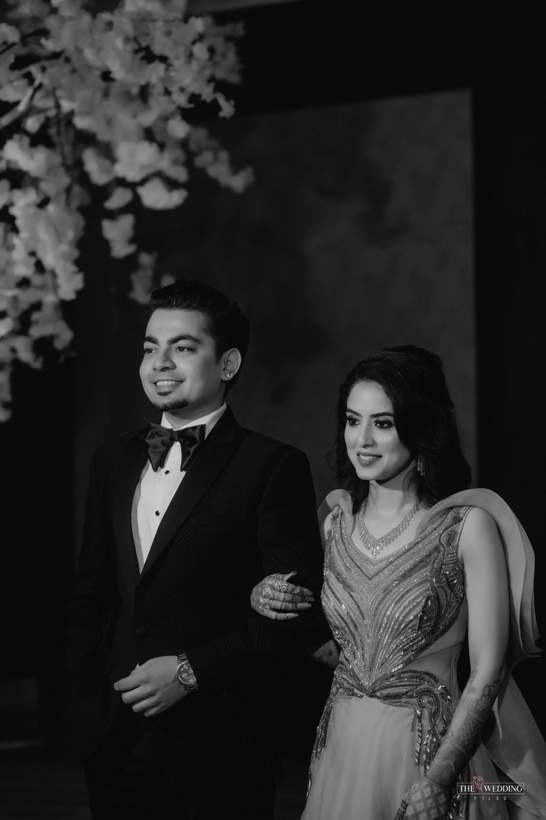 groom wearing tuxedo