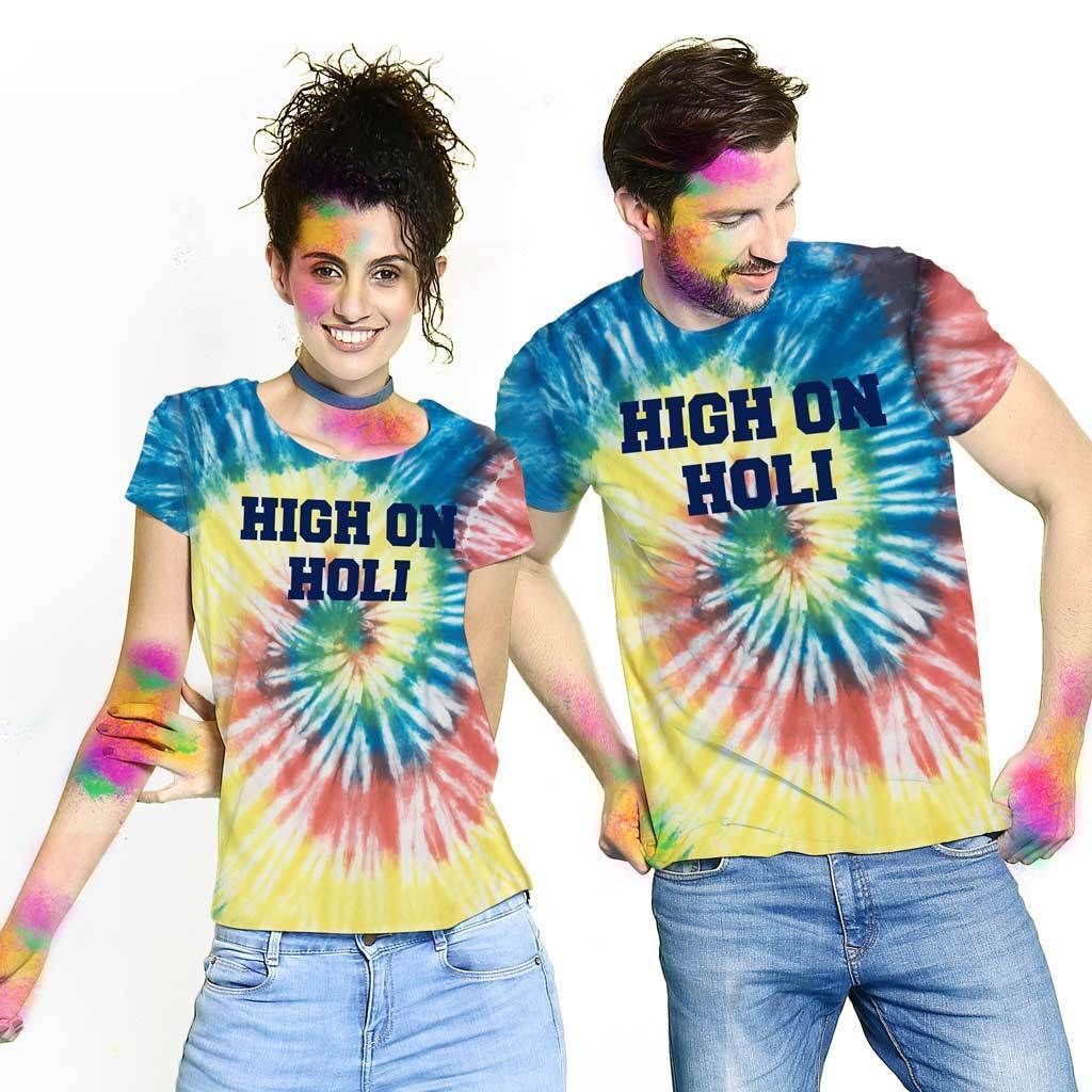 couple outfit ideas for Holi