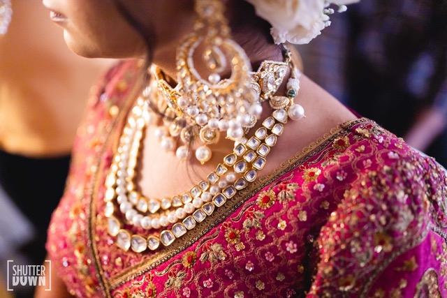kundan & pearl jewelry