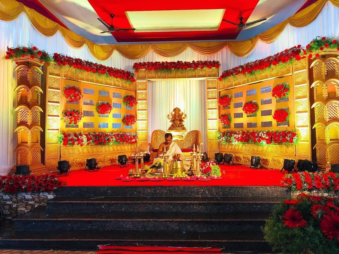 mandap decor for south indian weddings