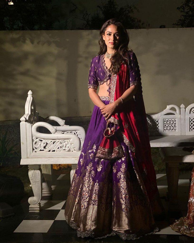 Mira Kapoor bridesmaid outfit
