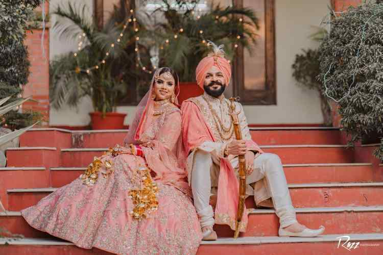 sikh couple portrait