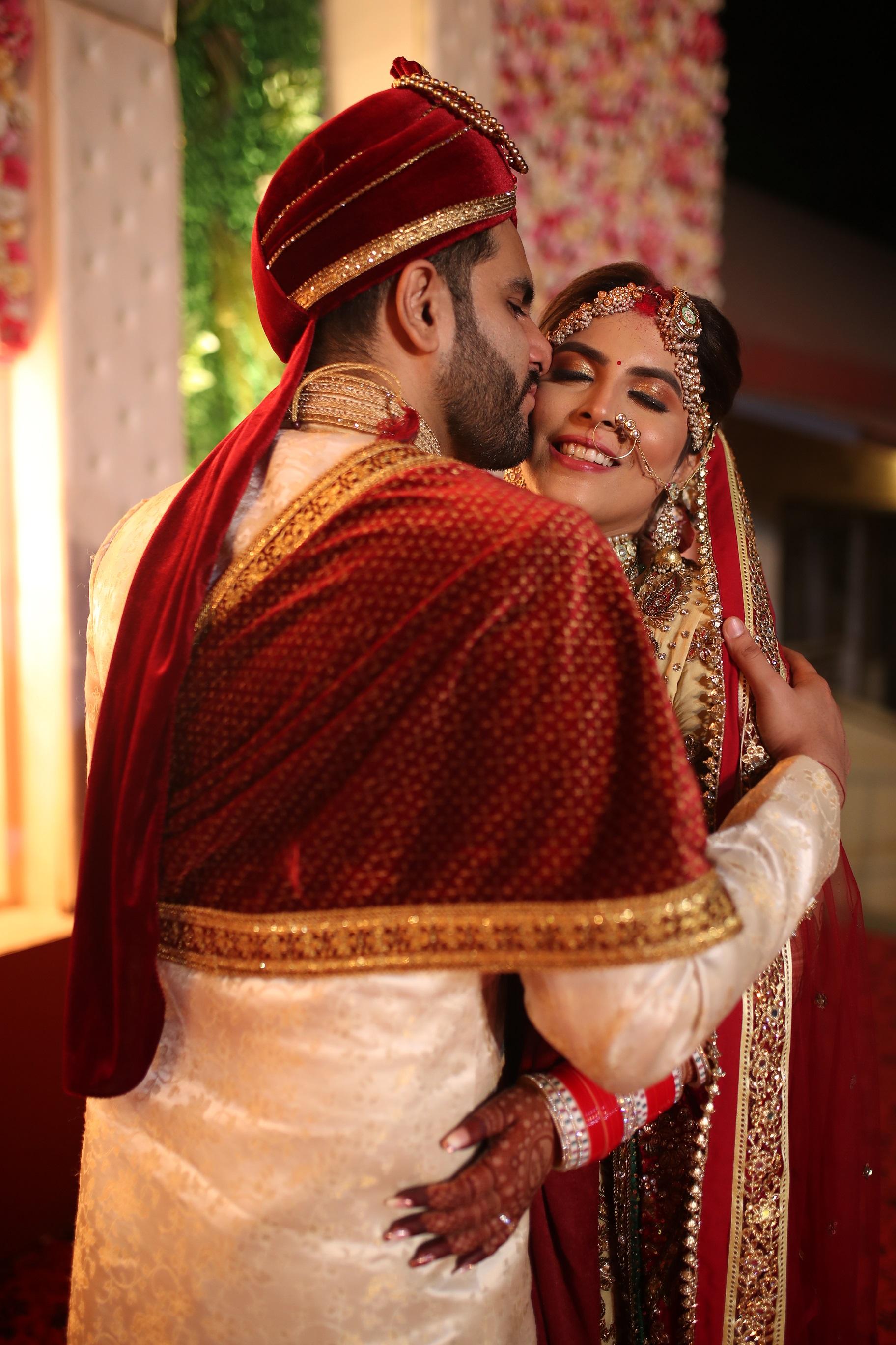Instagram Blogger couple wedding