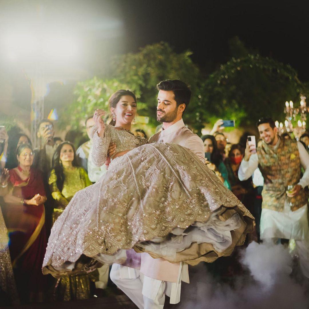 Mehreen & Bhavya's engagement
