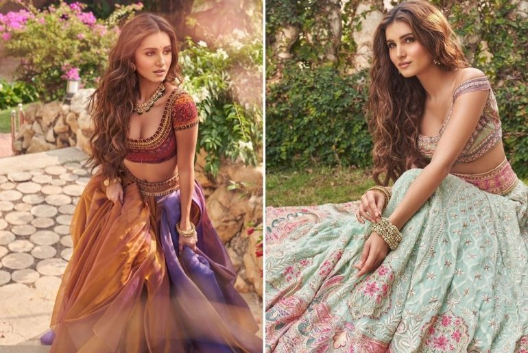 Take Cues From Tara Sutaria's Wedding Looks Drenched In Pastel Hues