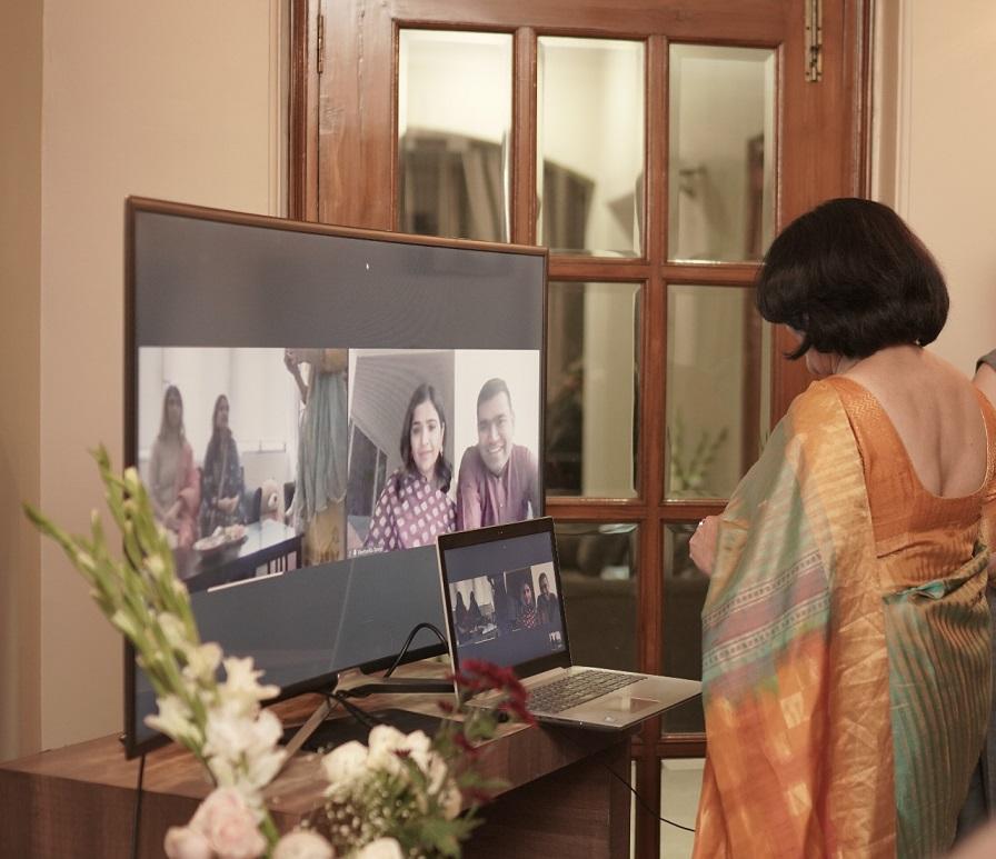 at home roka ceremony