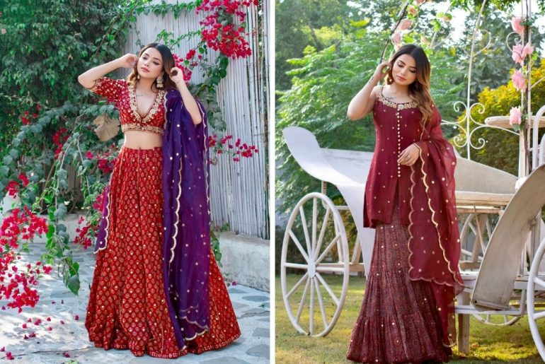 Fashion Influencer Aisha Mahdi Giving Some Gorgeous Bridesmaid Dresses Ideas