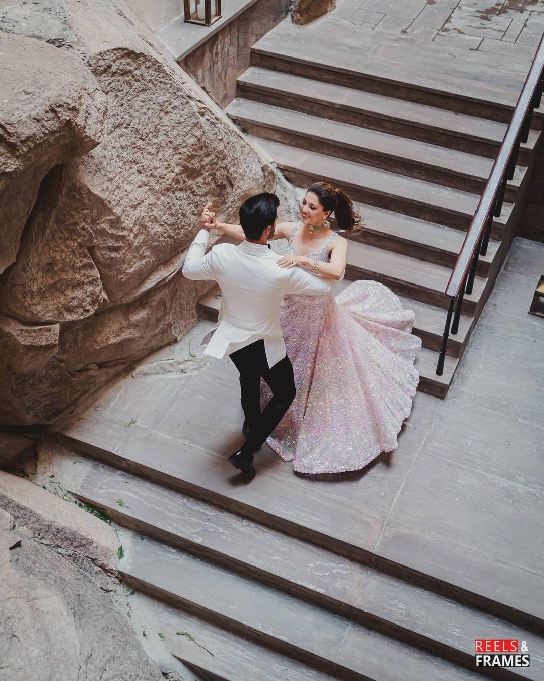 couple engagement shoot