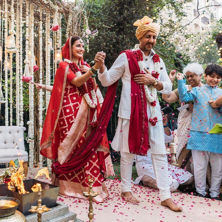 dia mirza sustainable wedding