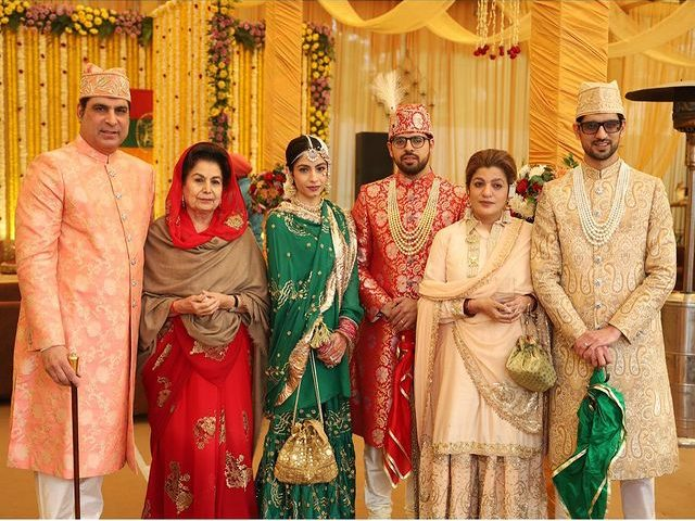 Muslim wedding outfits