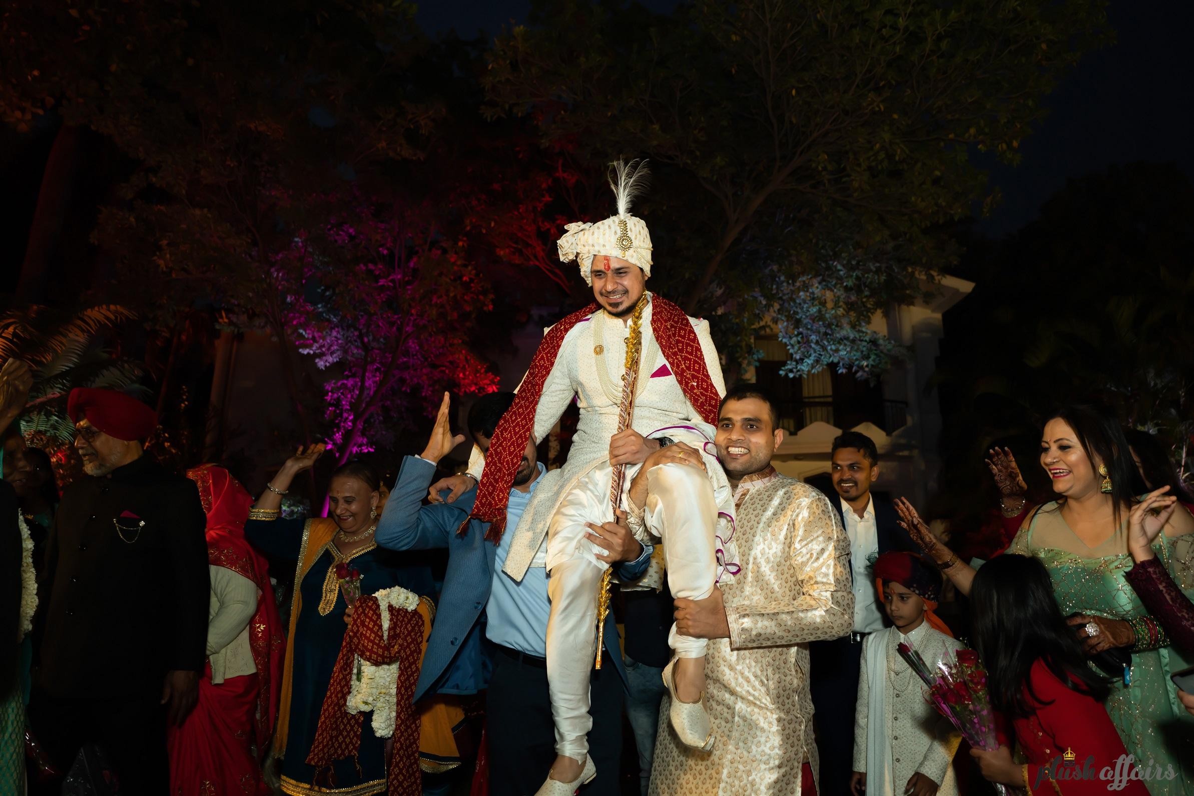 groom baraat