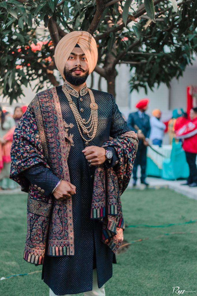 Punjabi groom outfits