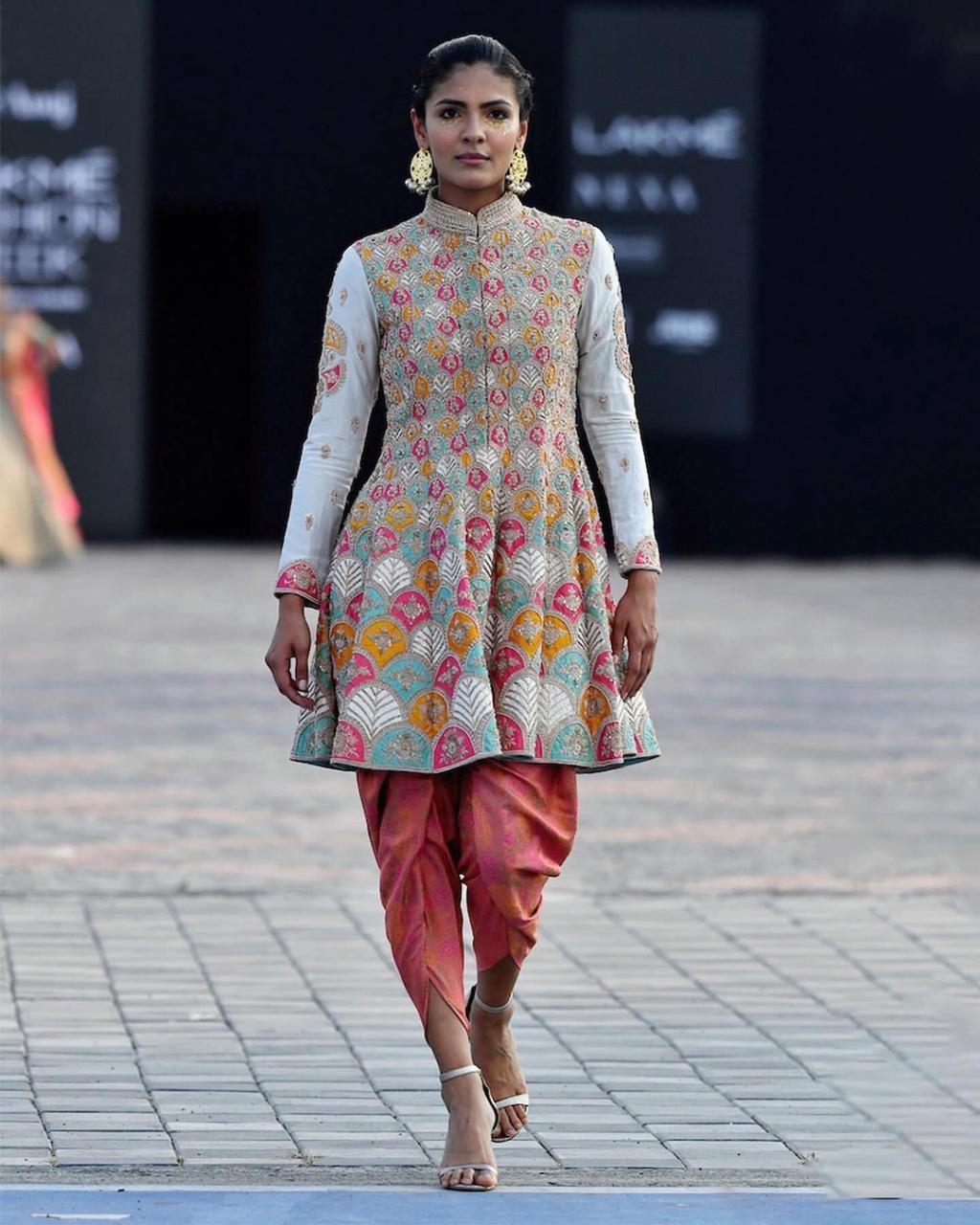 indo-western designer outfit