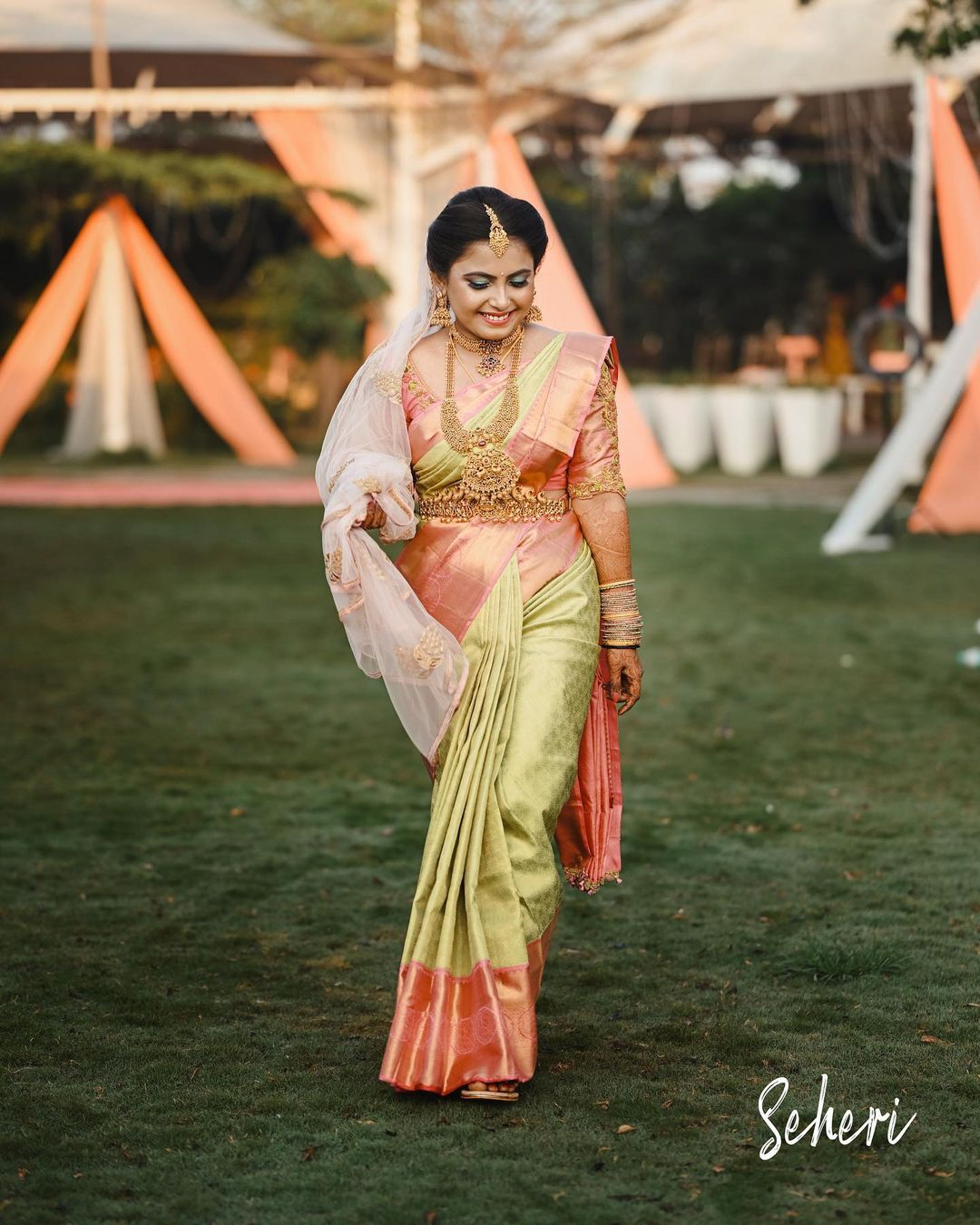kanjeevaram saree for brides