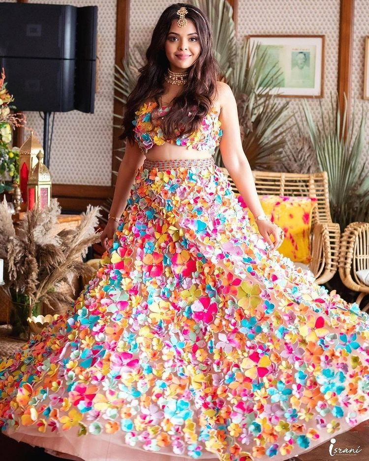 Multicolored Wedding Outfits
