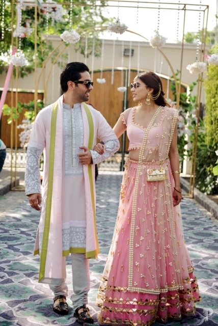pre-wedding pastel outfits