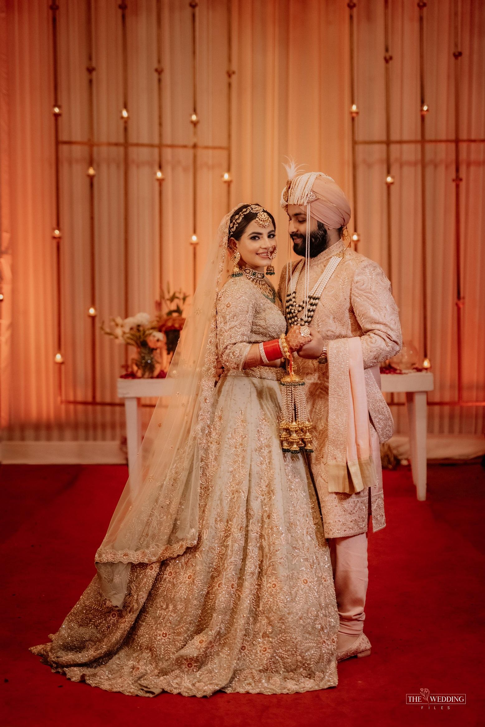 punjabi wedding outfits