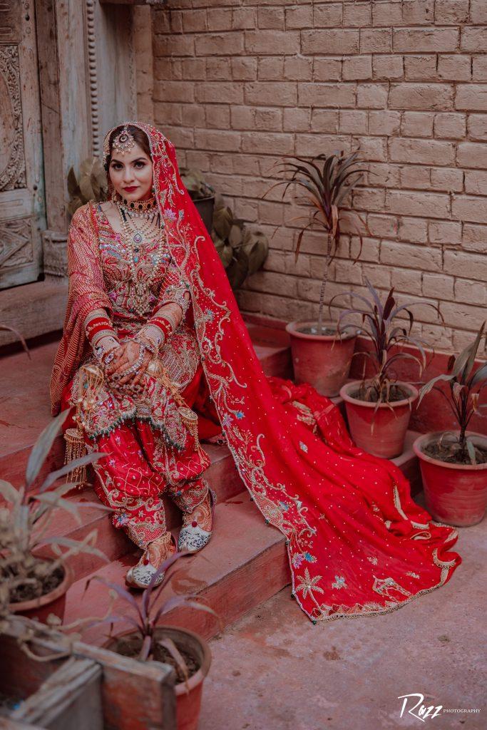 Punjabi wedding outfit