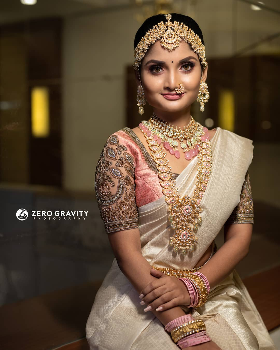 south indian bridal outfit