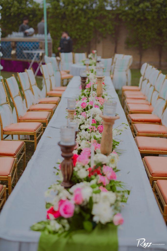 table arrangement ideas