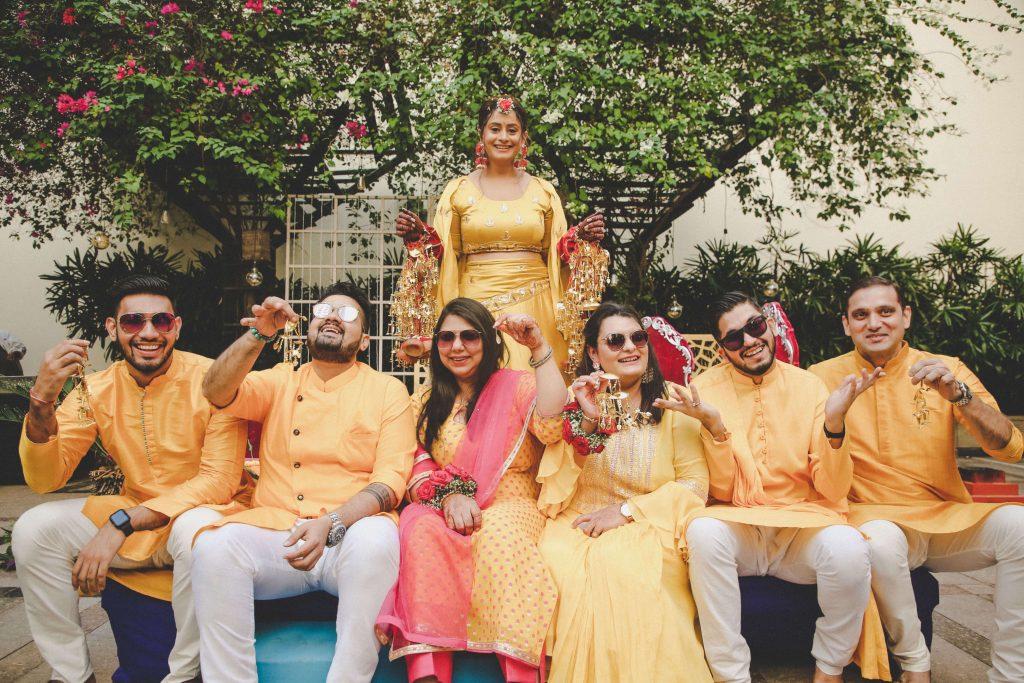 haldi ceremony trends
