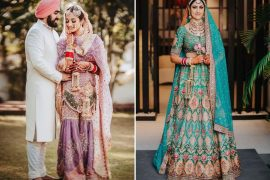 Intimate Wedding Outfits for Sikh Brides