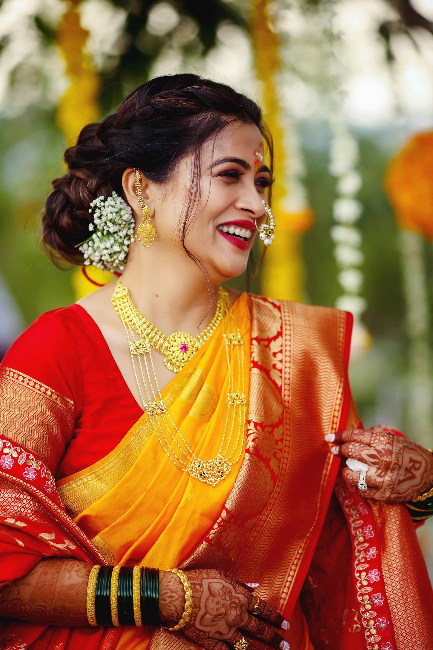 Ruchita Jadhav haldi look