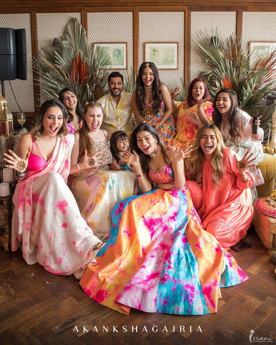 bridal squad picture