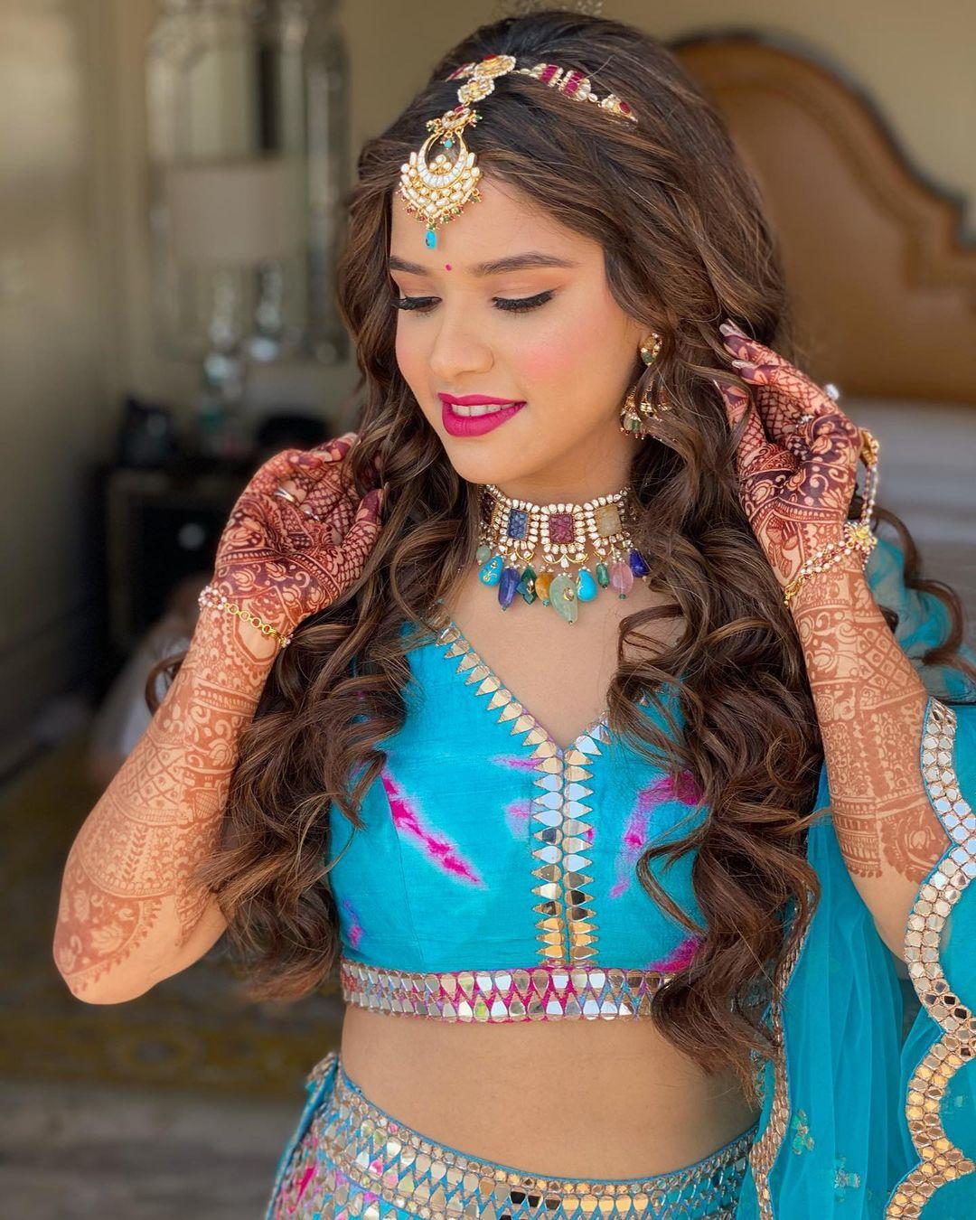 chandbali style sheeshpatti