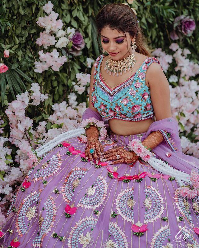 unique bridal blouses
