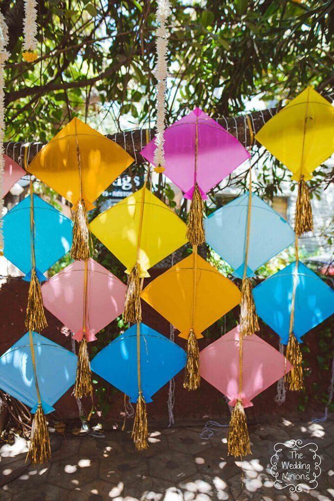 kite wedding decor ideas