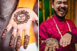 groom mehendi designs