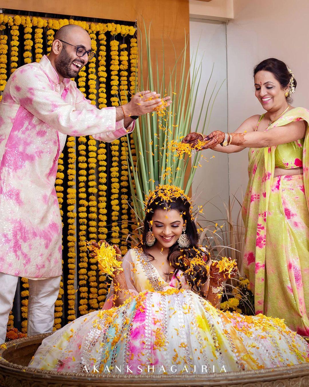 haldi pooja ceremony