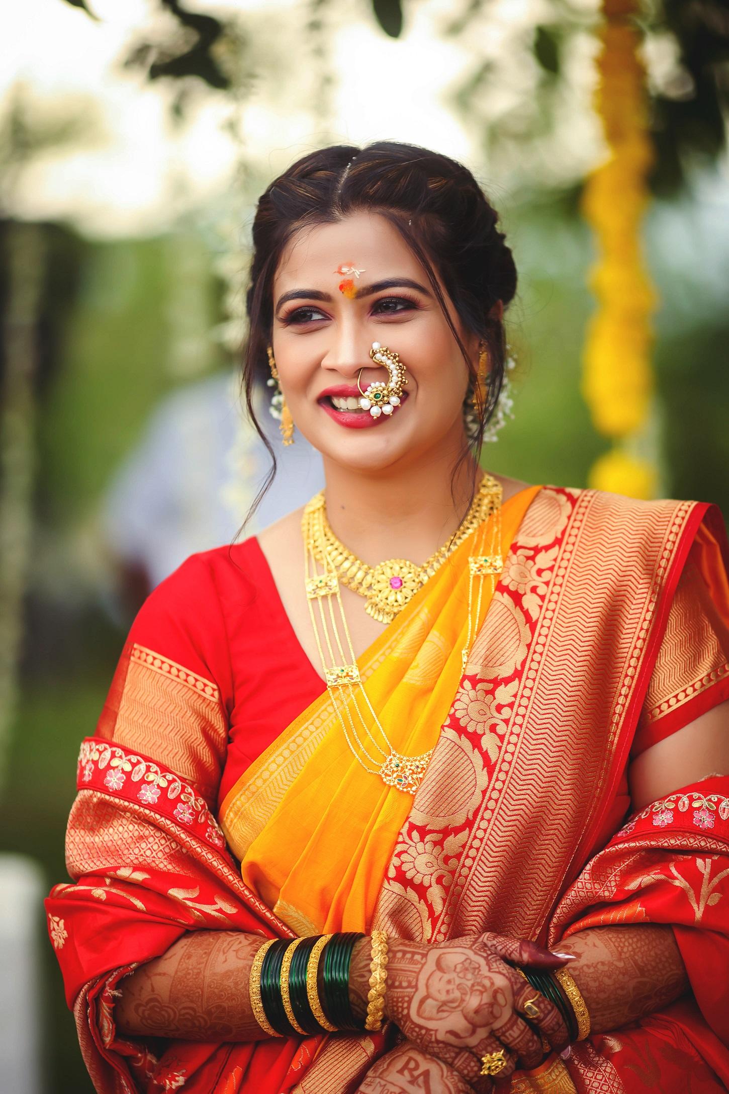 marathi wedding look