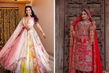 self-designed wedding dresses