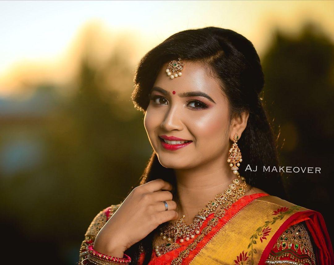 subtle bridal makeup look